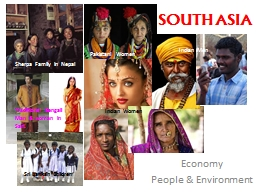 SOUTH ASIA PowerPoint PPT Presentation