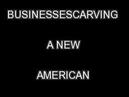 WOMEN-OWNED BUSINESSESCARVING A NEW AMERICAN BUSINESS LANDSCAPE ...