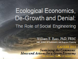 Ecological Economics,
