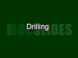 Drilling & Rig Services PowerPoint Presentation, PPT - DocSlides