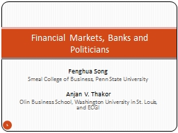 Fenghua Song PowerPoint PPT Presentation