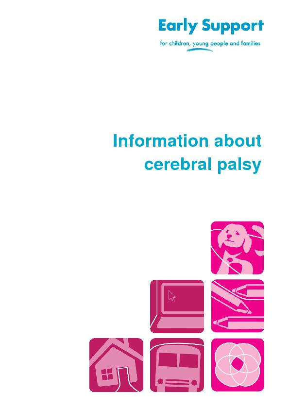 Information about  cerebral palsy