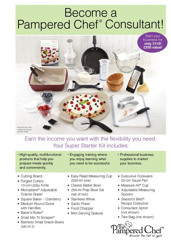 Become a Pampered Chef
