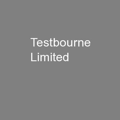 Testbourne Limited PowerPoint PPT Presentation