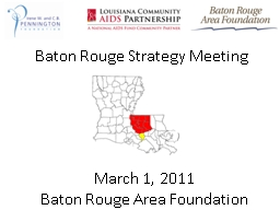 Baton Rouge Strategy Meeting