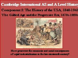 Cambridge International AS and A Level History