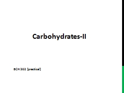 Carbohydrates-II PowerPoint PPT Presentation