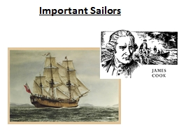 Important Sailors