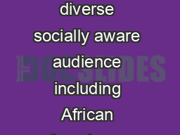 feature type comic strip frequency x  week delivery methods FTP UClick target audience diverse socially aware audience including African Americans and other minority groups What s the next comic in l
