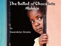 The Ballad of Choco