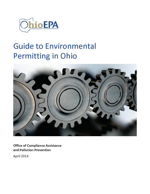 Guide to Environmental Permitting in Ohio