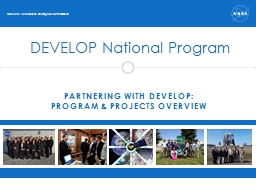 Partnering with DEVELOP: