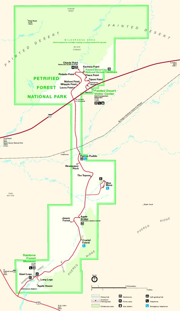 Visitor CenterForestNATIONAL PARK(Permit required for overnight campin