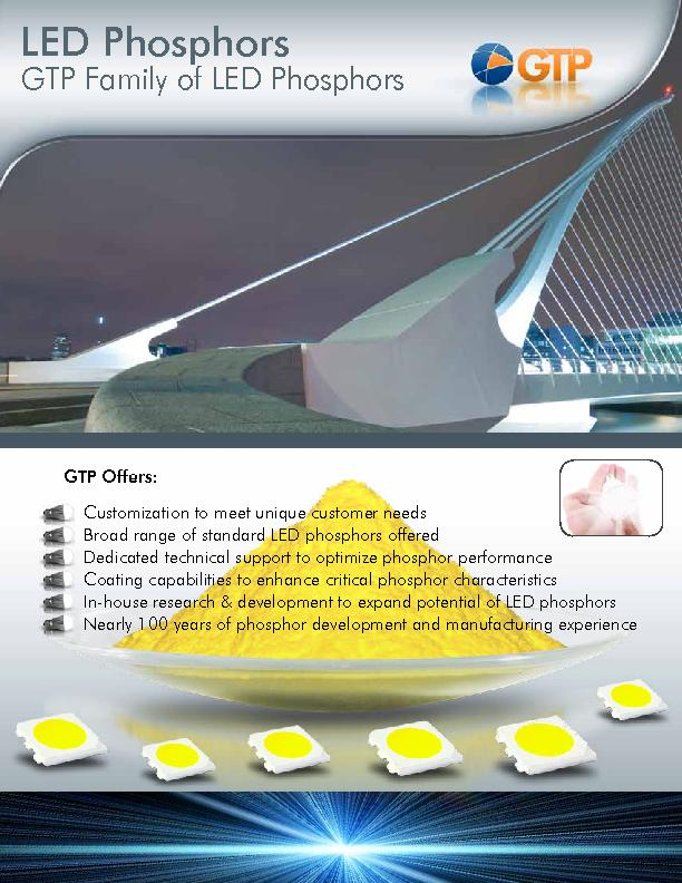 GTP Family of LED Phosphors
