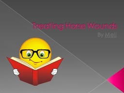Treating Horse Wounds