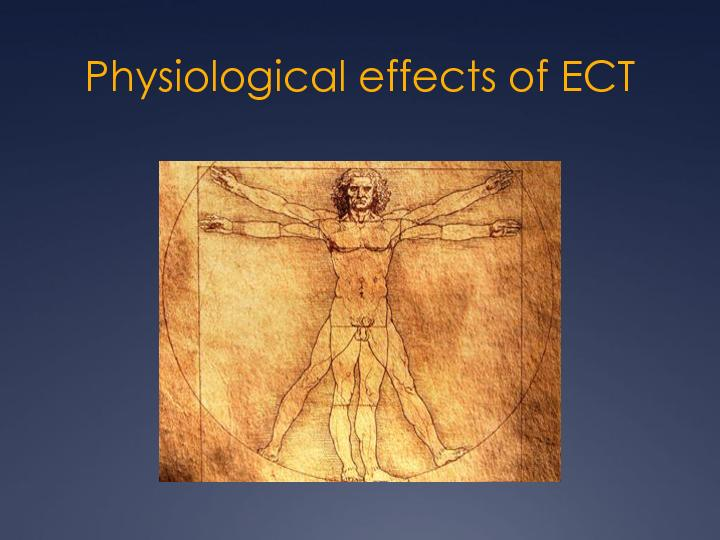 Physiological effects of ECT
