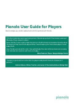 Pianola Plus provides three charts for your bidding accuracy and card