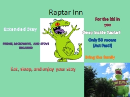 Raptar PowerPoint PPT Presentation