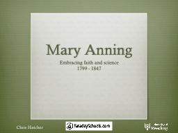Mary PowerPoint PPT Presentation