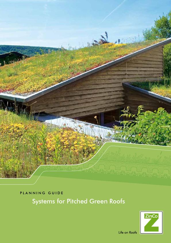 Systems for Pitched Green Roofs