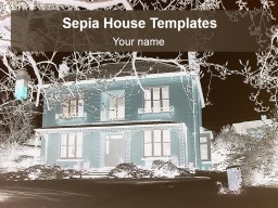 Sepia House Templates