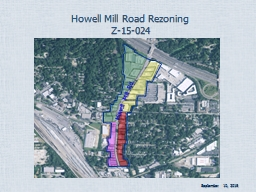 Howell Mill PowerPoint PPT Presentation