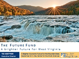 The Future Fund PowerPoint PPT Presentation