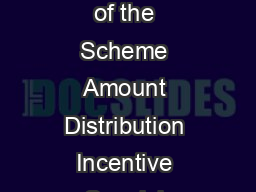 Brokerage Structure Effective from January   to March   Name of the Scheme Amount Distribution Incentive Special Incentive for other than T Locations  Trail Year  p