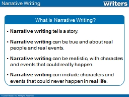 powerpoint on writing a narrative essay Powerpoint presentations narrative writing links this resource from write on provides multiple resources for narrative writing, but see the narrative lesson powerpoint.