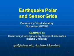 1 Earthquake Polar