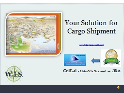 Your Solution for Cargo Shipment PowerPoint PPT Presentation
