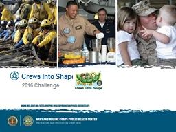Crews Into Shape PowerPoint PPT Presentation