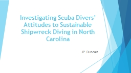Investigating Scuba Divers' Attitudes to Sustainable Ship