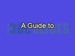 A Guide to