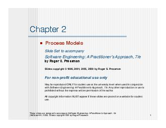 process patterndescribes a process-related problem that is encountered