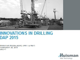 Innovations in drilling