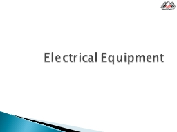 Electrical Equipment PowerPoint PPT Presentation