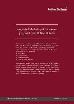 Integrated Marketing  Promotion proposal from Bullion Bulletin W   d W   dW d d W WD     TM Marketing and promotion proposal from Bullion Bulletin wwww