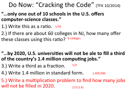 Do Now: �Cracking the Code�