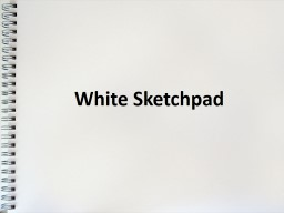 White Sketchpad