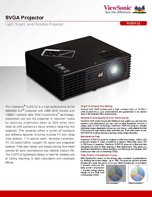 Light, Bright, and Portable Projector