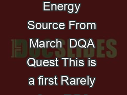 Making MethaneRecovery Work Methane from Animal By Products is Feasible Energy Source From March  DQA Quest This is a first Rarely does DQA Quest feature stories that follow the philosophy of the por