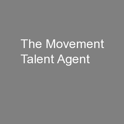 The Movement Talent Agent
