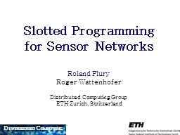 Slotted Programming