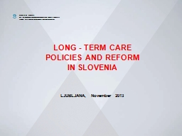 LONG - TERM CARE