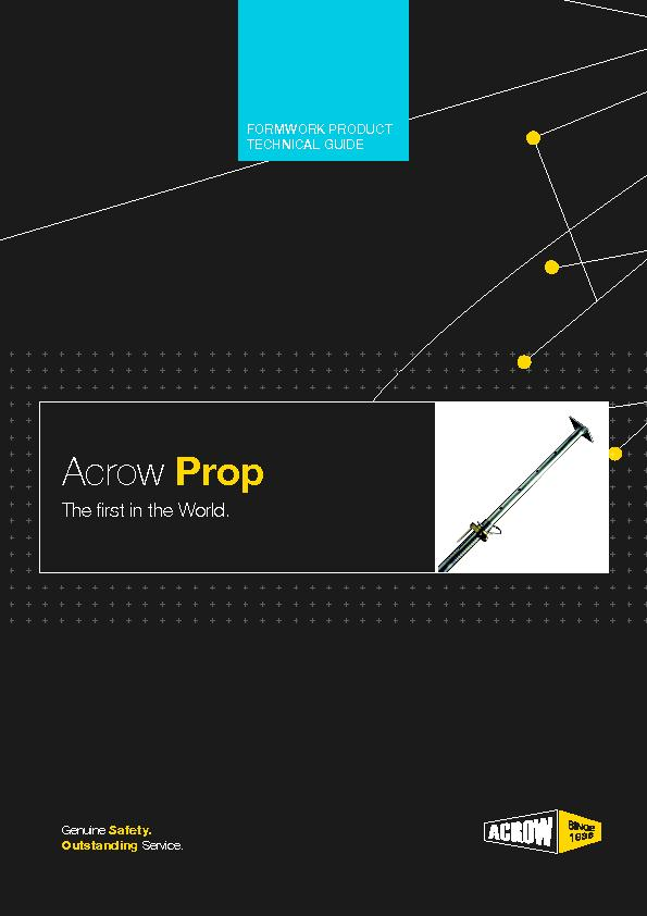 Know how to use Acrow Prop