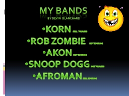 My bands
