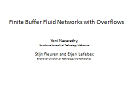 Finite Buffer Fluid Networks with Overflows