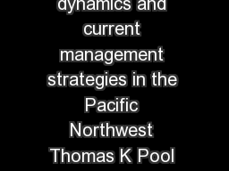 Channel Catfish Review Lifehistory distribution invasio n dynamics and current management strategies in the Pacific Northwest Thomas K Pool University of Washington Figure  Illustration of a channel