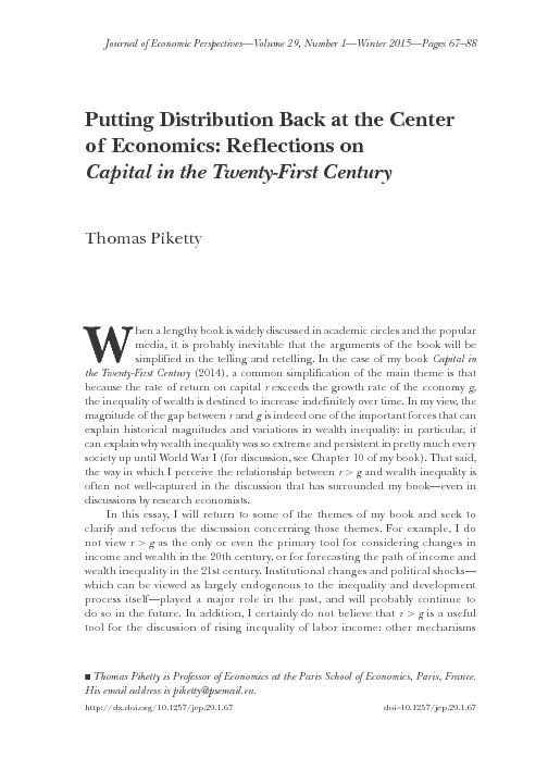 Journal of Economic Perspectives—Volume 29, Number 1—Winter